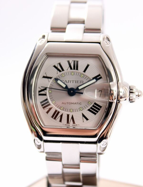 Cartier Roadster Automatic Steel