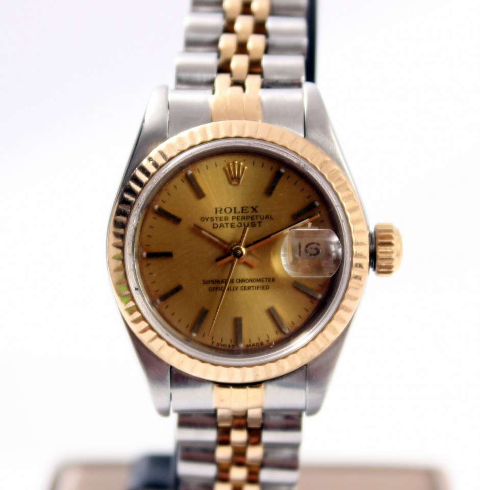 Rolex Datejust Goud/Staal