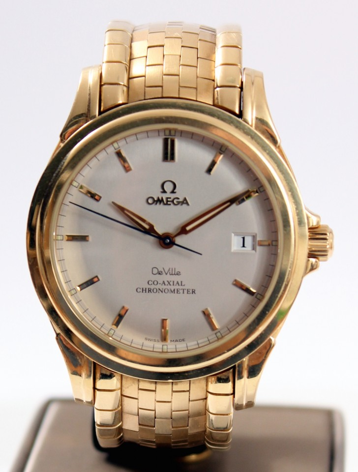 Omega De Ville Co-Axial Chronometer 18 krt.