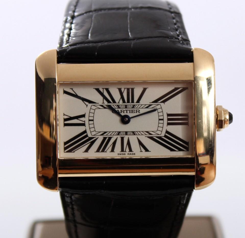 Cartier Tank Divan XL 18 Krt goud