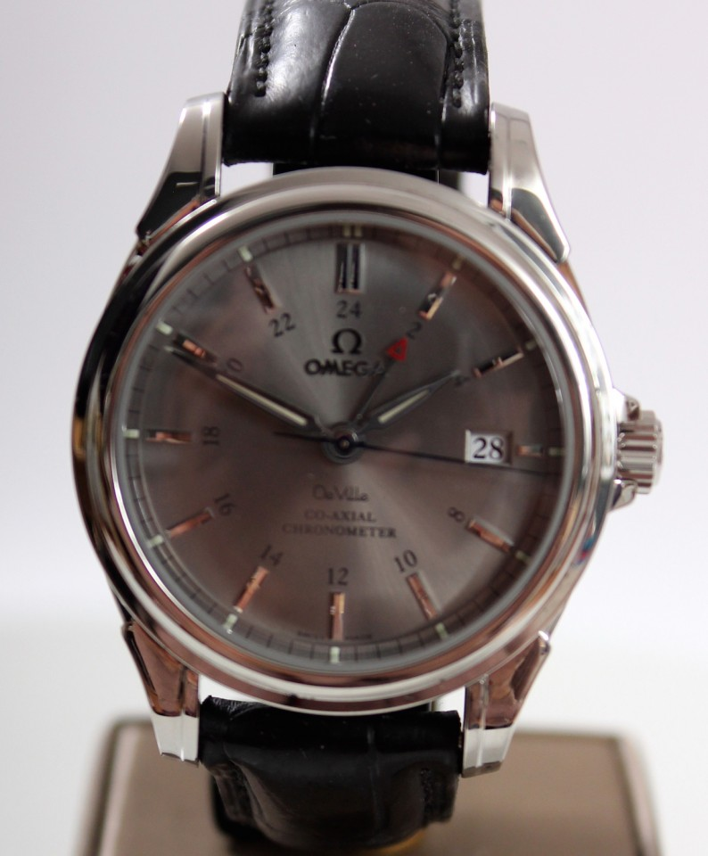 Omega DeVille Co-Axial GMT