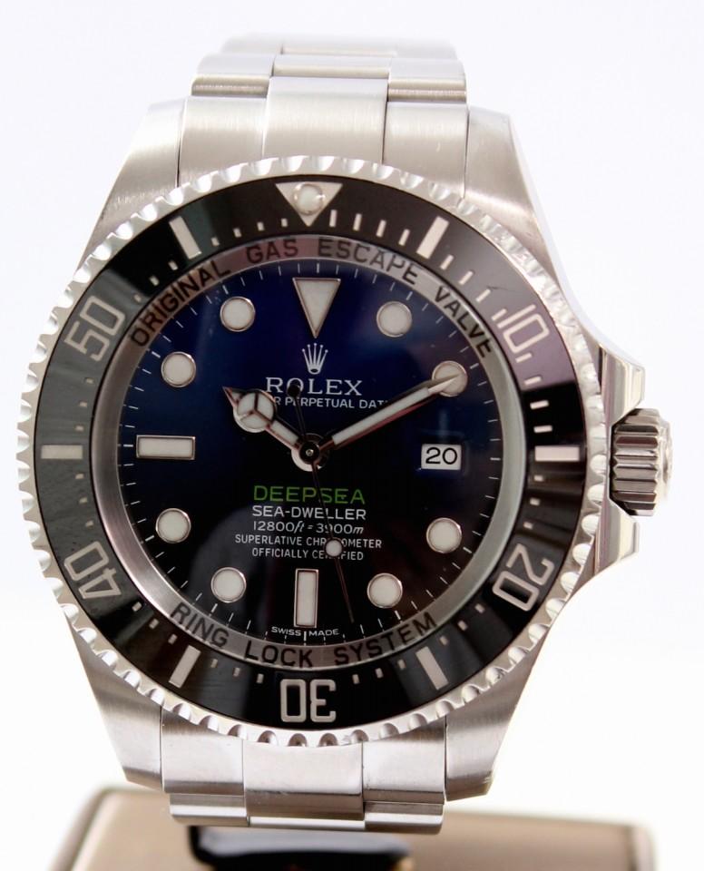 """Rolex Sea-Dweller Deepsea D-Blue """"James Cameron"""" Ref. 116660"""