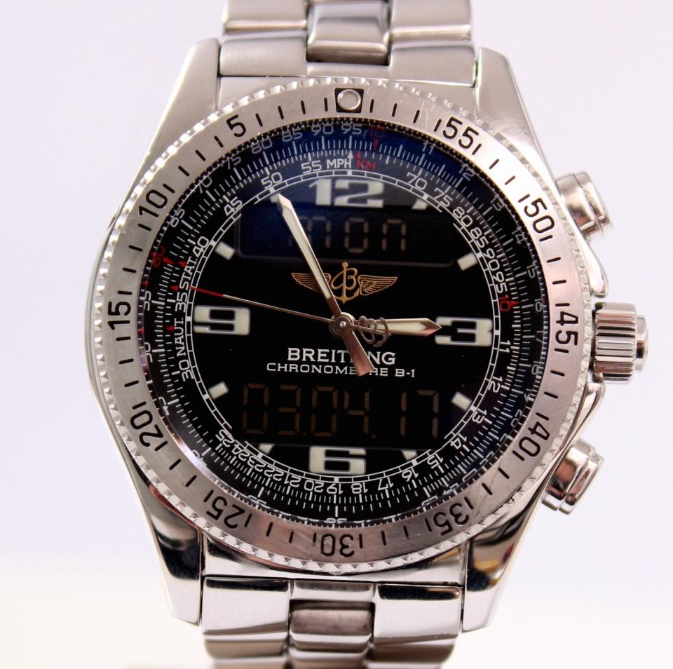 Breitling B-1 Chronograph Chronometer Steel A78362