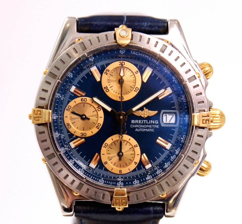 Breitling Chronomat Goud/Staal Chronograaf