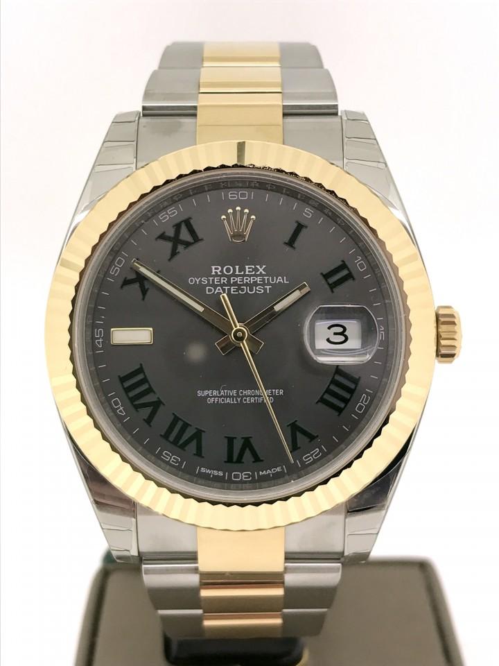 Rolex Datejust Slate Roman Ref.126333