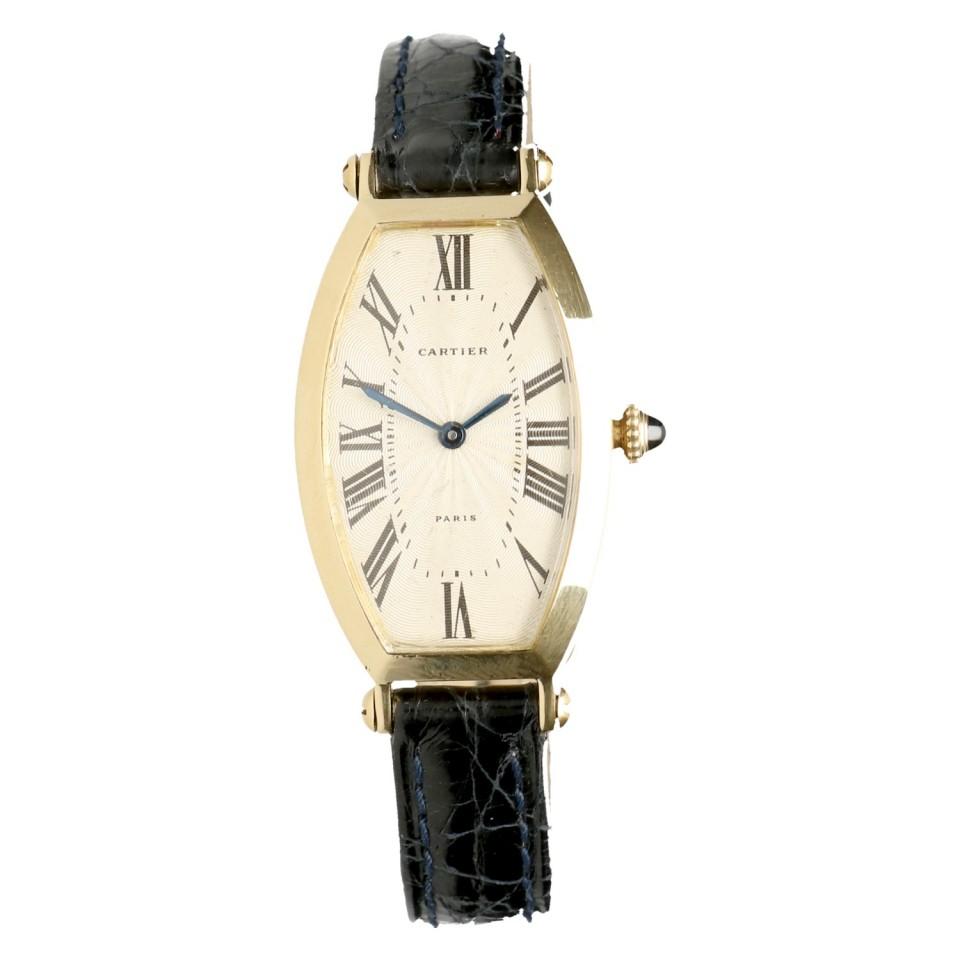 Cartier Tonneau 18k Goud