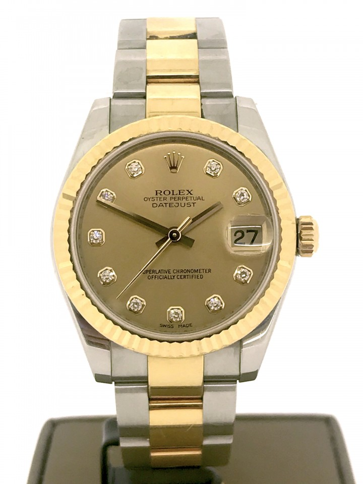 Rolex Datejust Goud/Staal Ref.178273