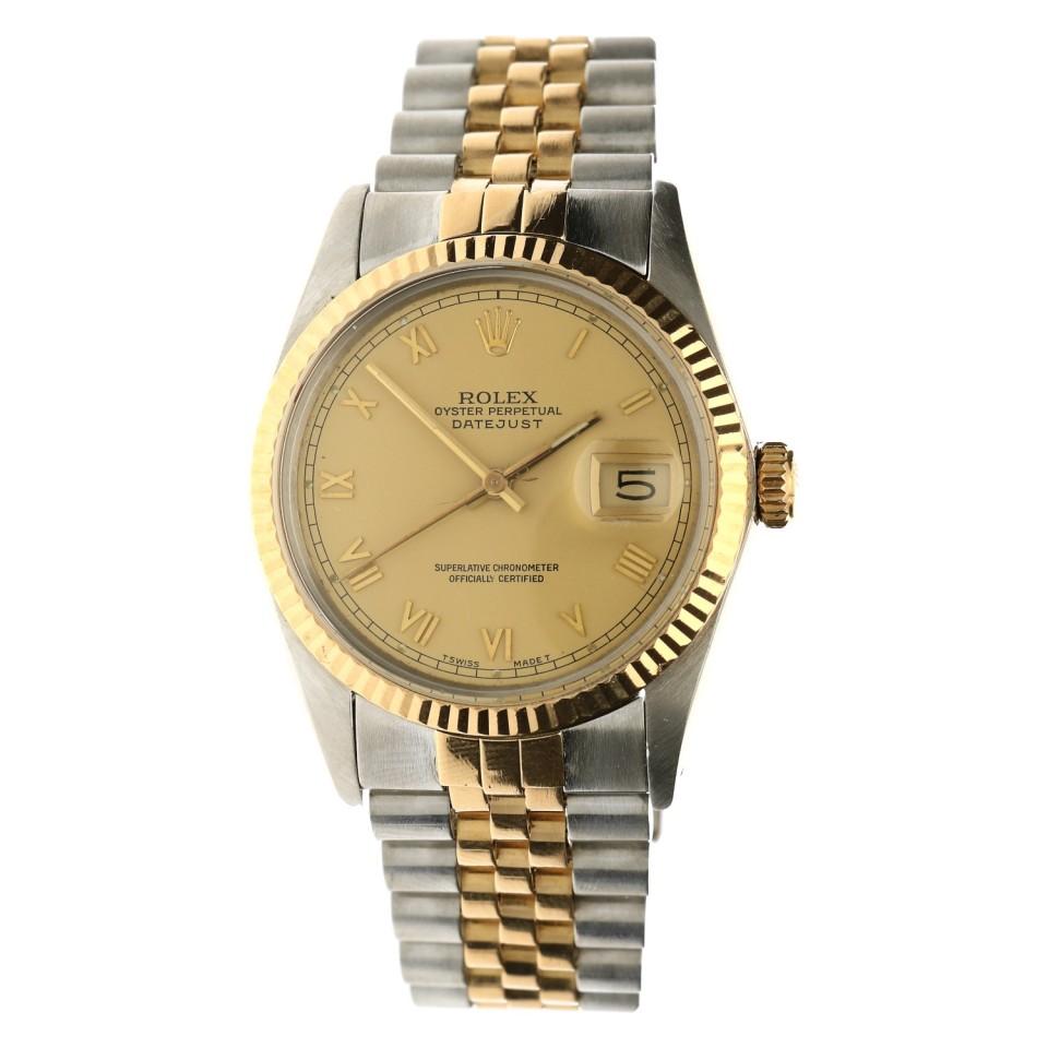 Rolex Datejust Goud/Staal Ref.16013