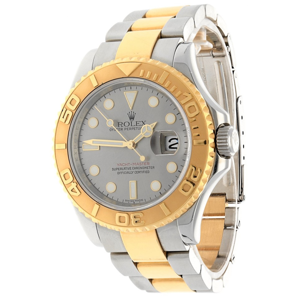 Rolex Yachtmaster Goud/staal Ref.16623