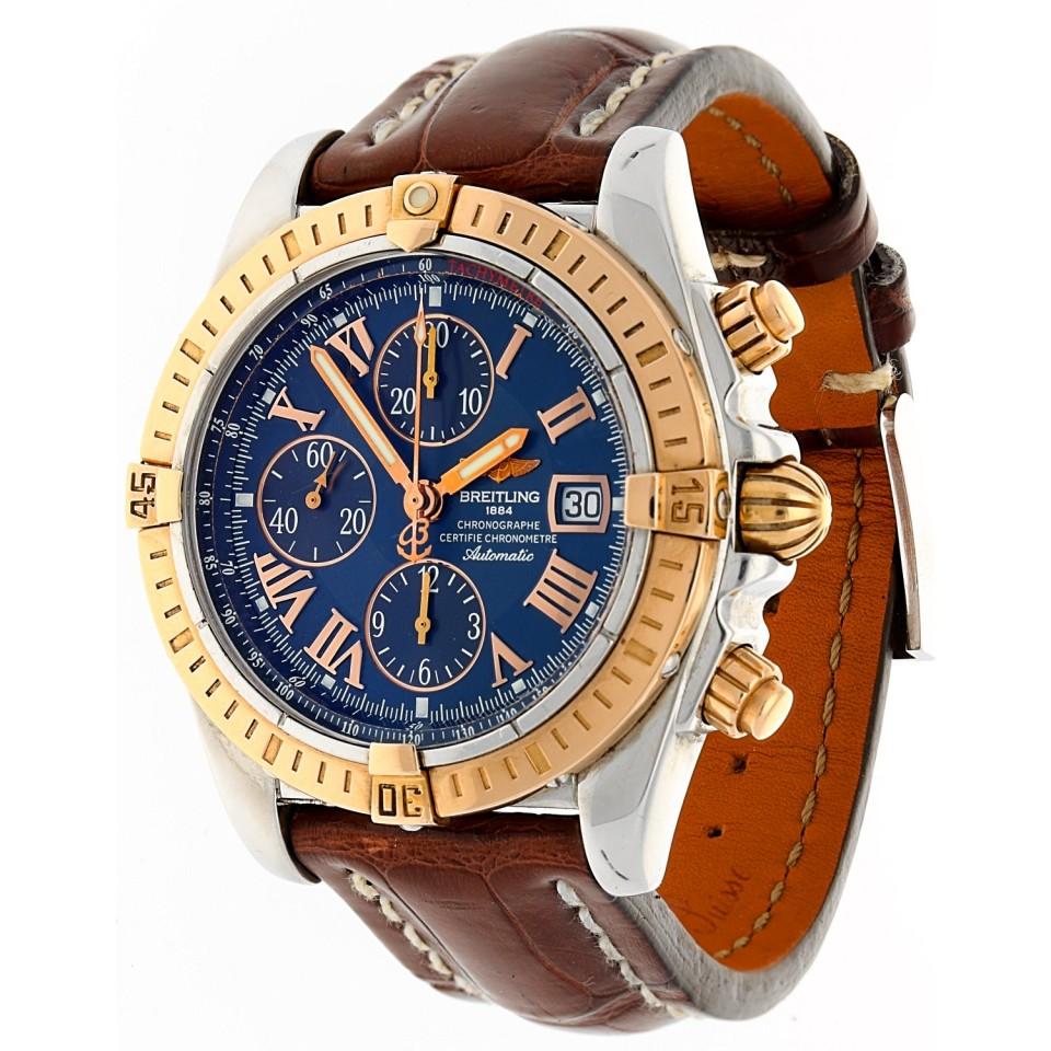 Breitling Chronomat Evolution Goud/Staal.