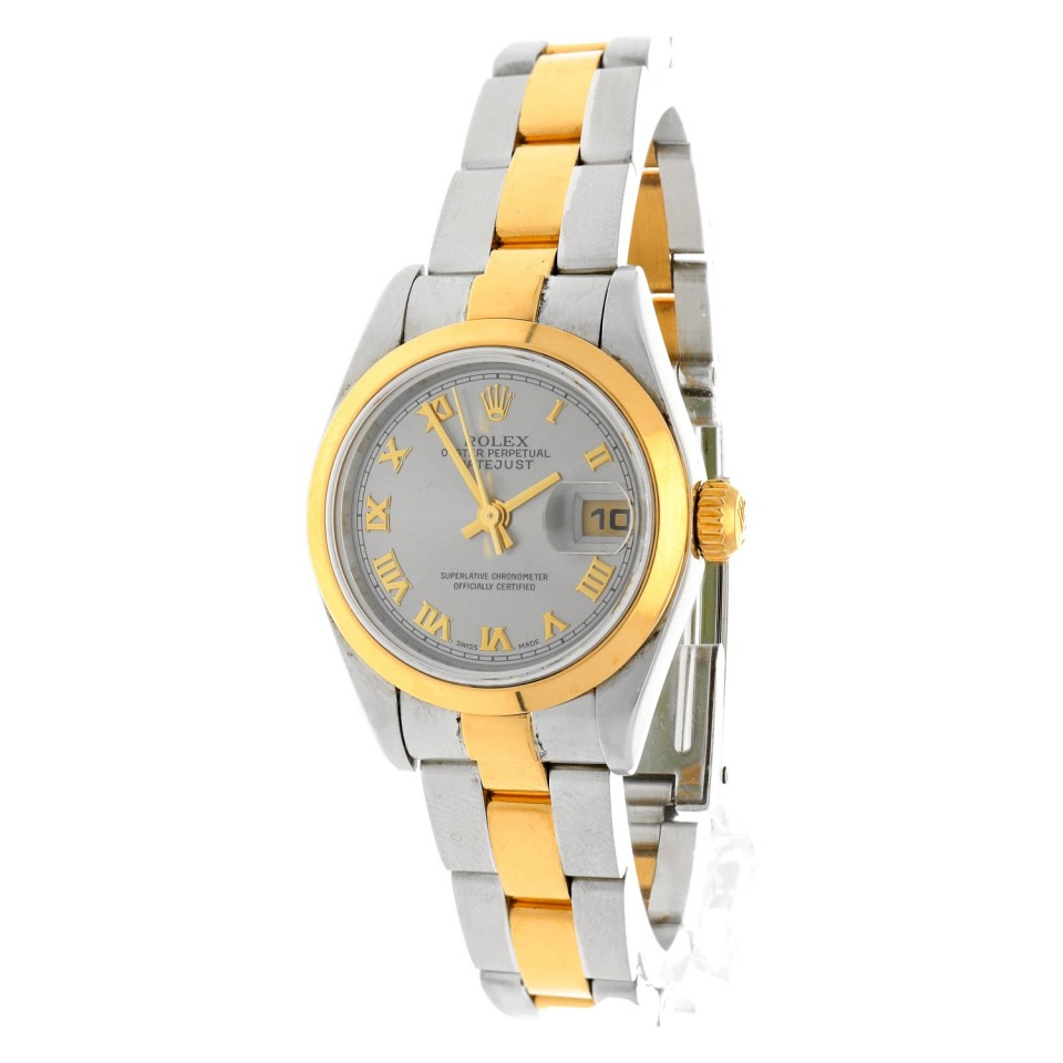 Rolex Datejust Goud/Staal Ref.79163