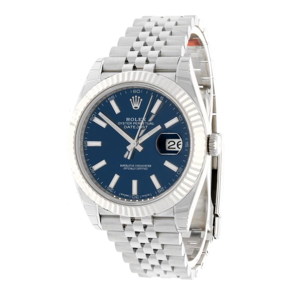 Rolex Datejust 41 Blue Index Ref.126334