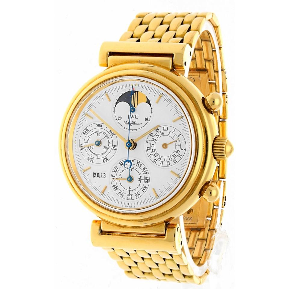 IWC Da Vinci Perpetual Calendar 18Krt. goud
