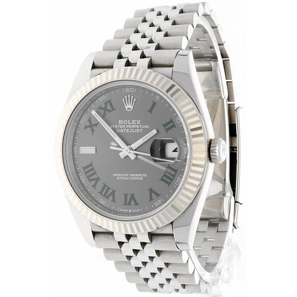 Rolex Datejust 41 Slate Roman 126334