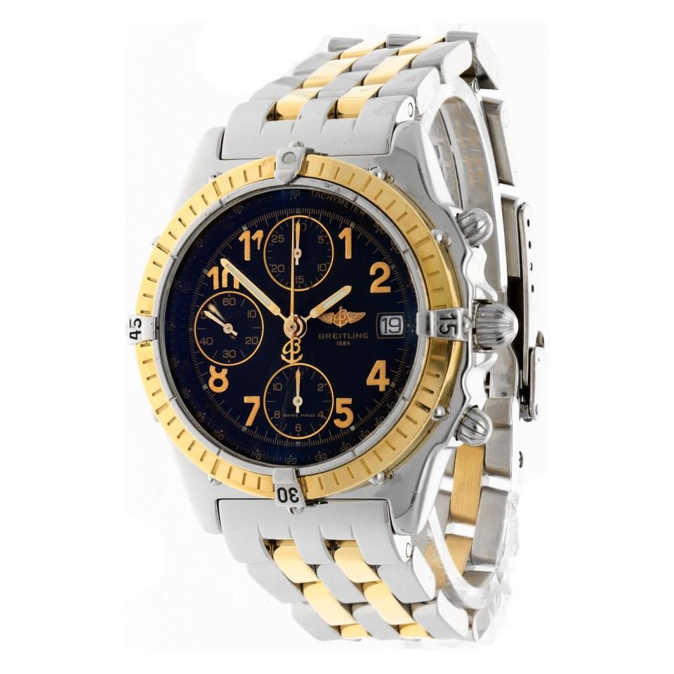Breitling Chronomat Goud/staal D13050.1