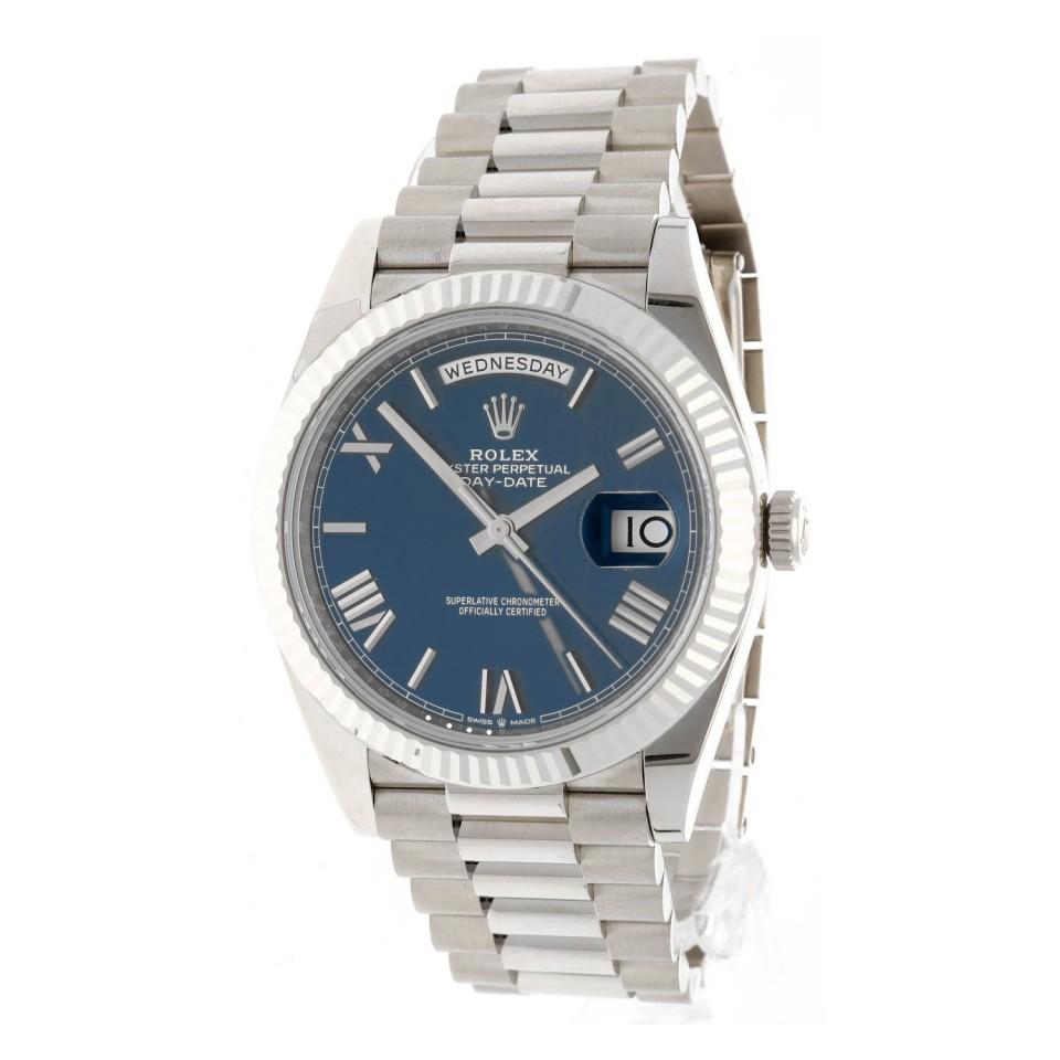 Rolex Day-Date 40 Blue Index Ref.228239