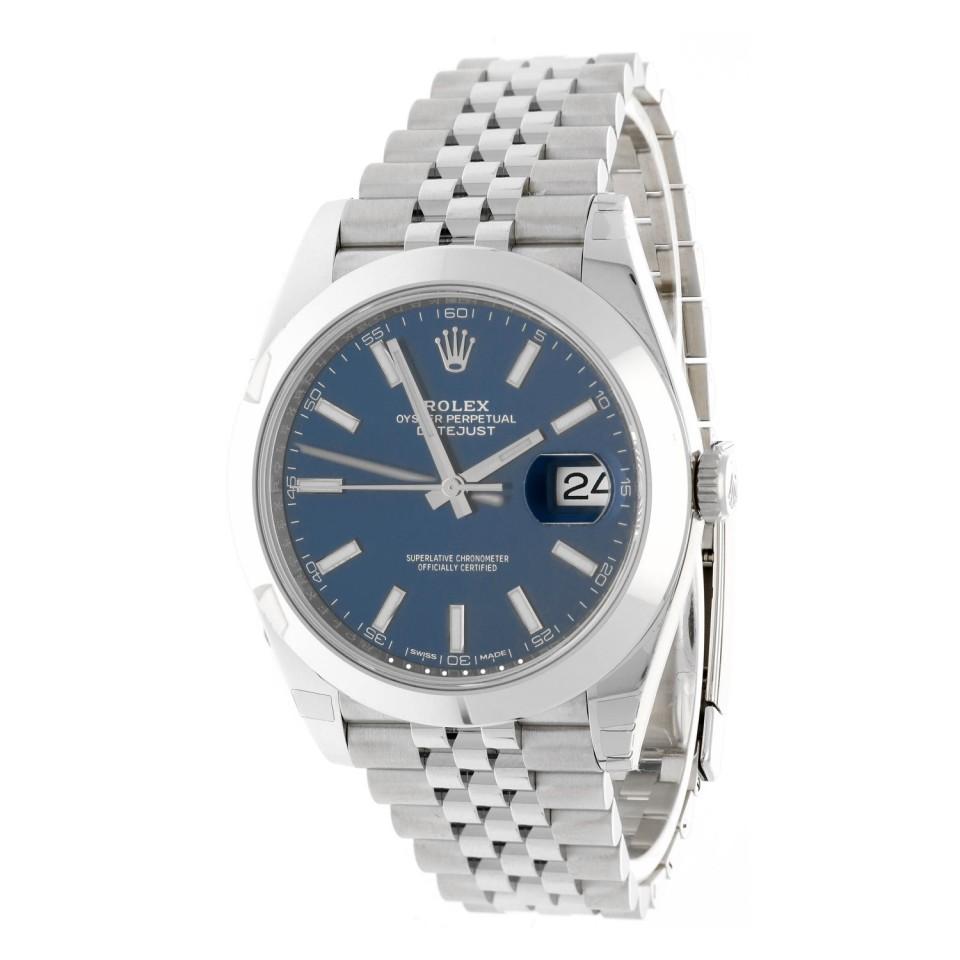 Rolex Datejust 41 Blue Index