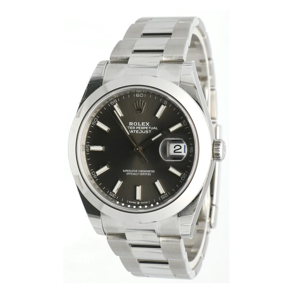 Rolex Datejust II 41mm Rhodium Ref.126300
