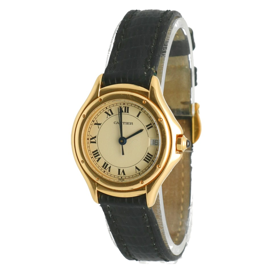 Cartier Cougar Ronde 18Krt. goud