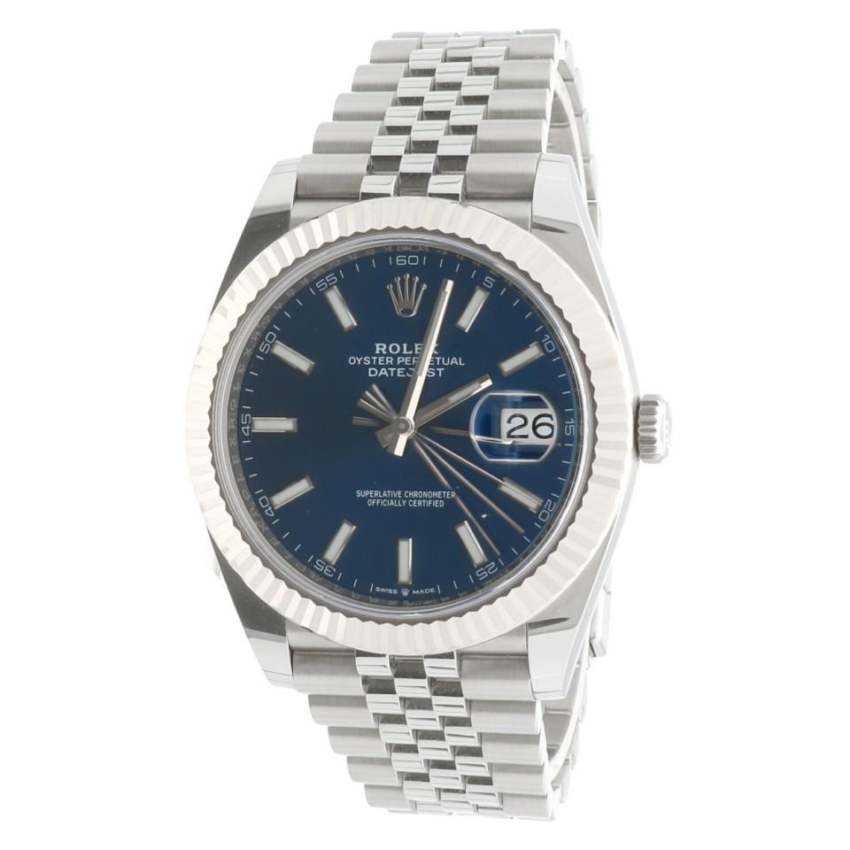 Rolex Datejust 41 Jubilee Blue Ref.126334