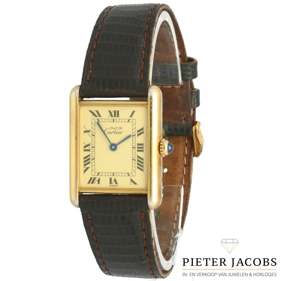 Cartier Tank Vermeil Quartz