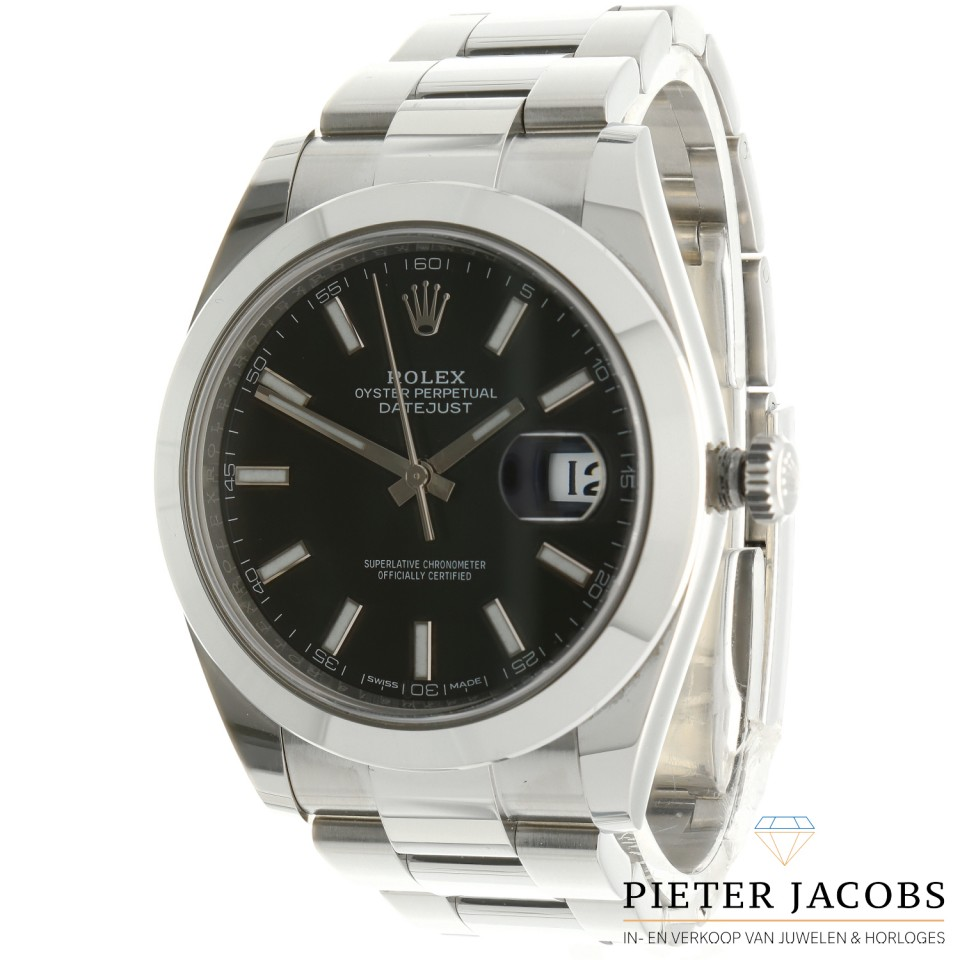 Rolex Datejust 41 Black Dial Ref. 126300