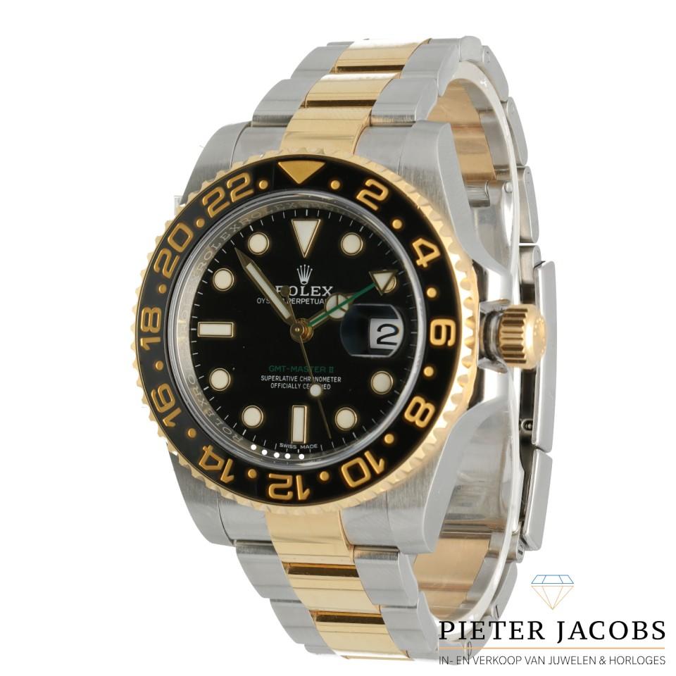 Rolex GMT Master II goud/staal Ref. 116713LN