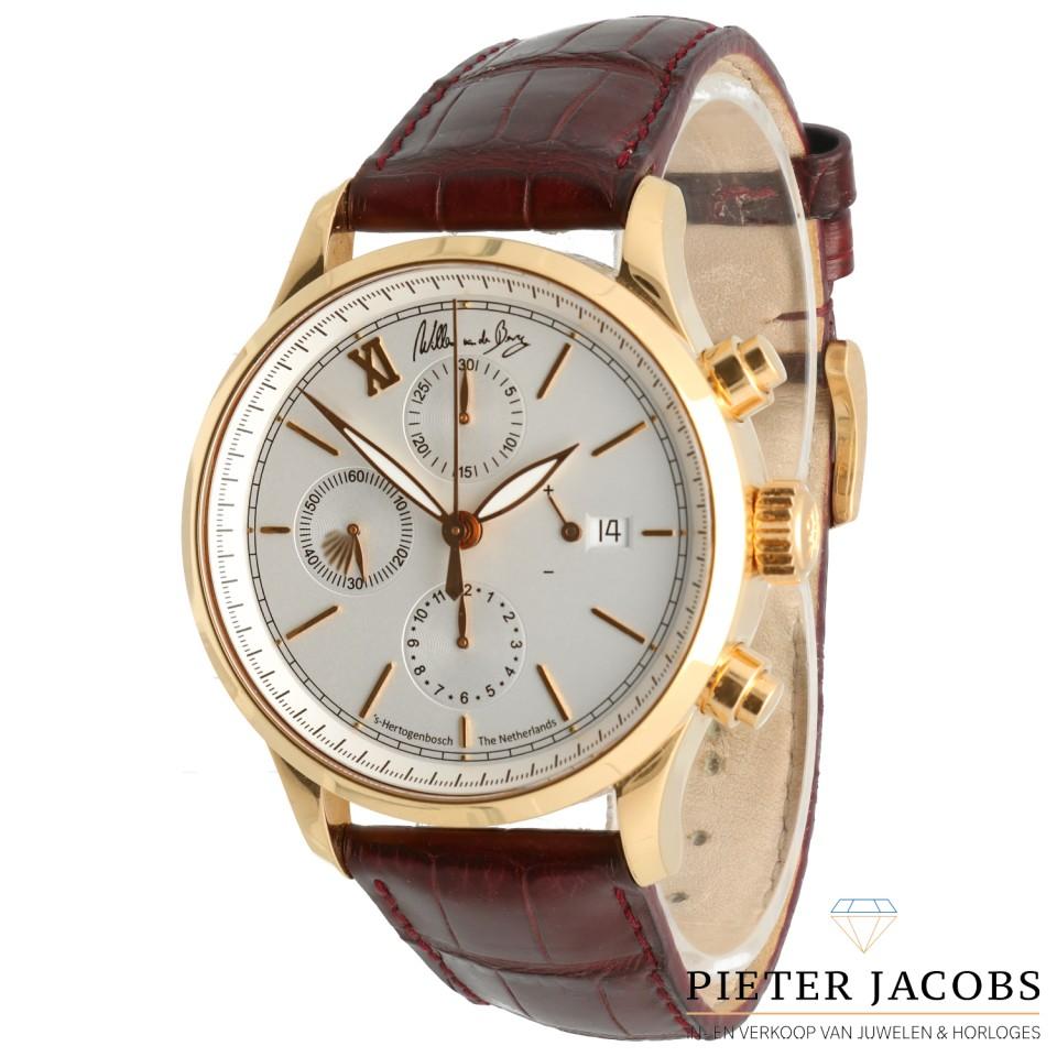 Rose Gouden Heren horloge