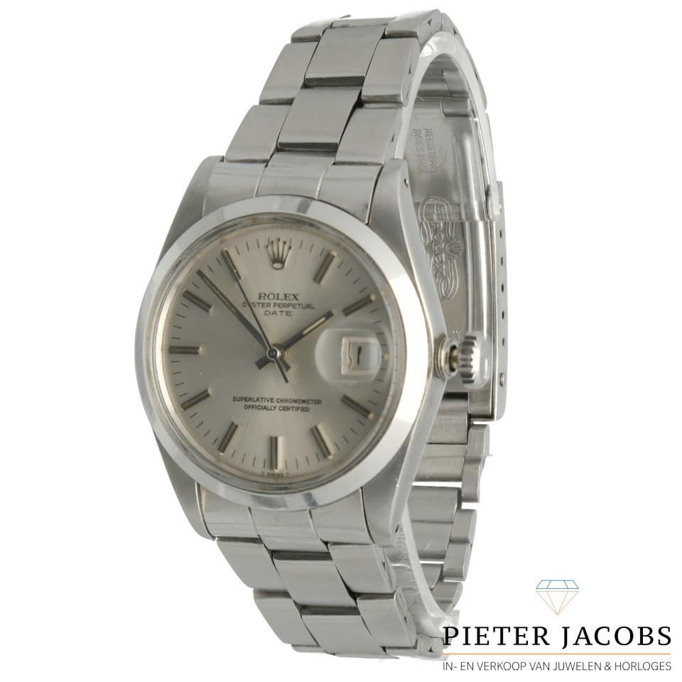 Rolex Oyster Perpetual Date 34mm Ref. 1500