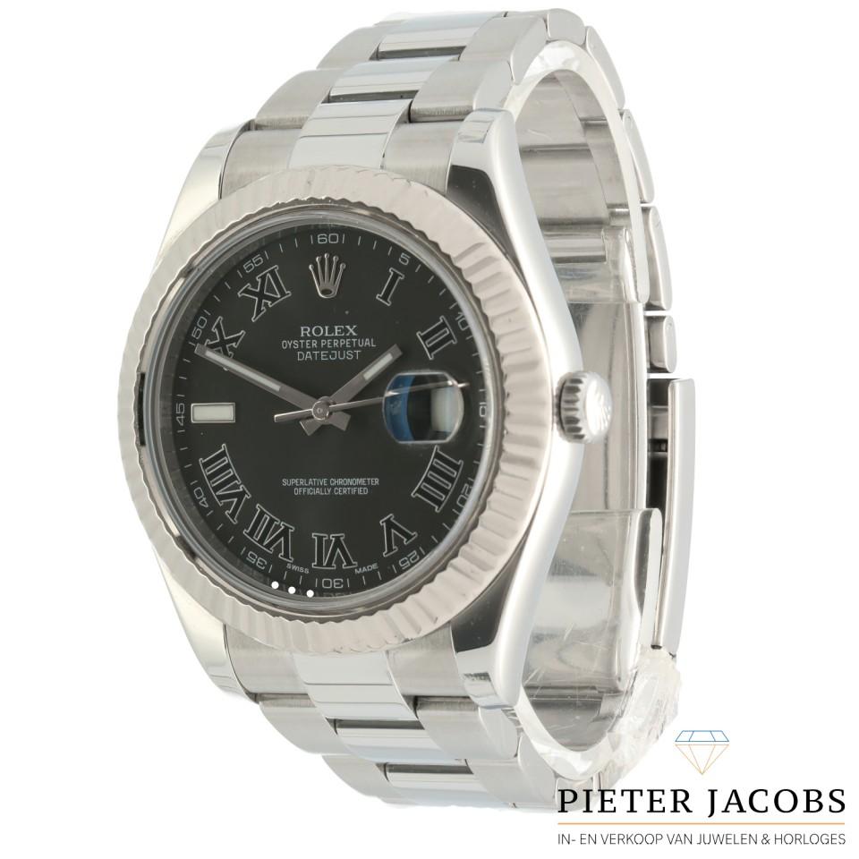 Rolex Datejust II Roman Dial Ref.116334