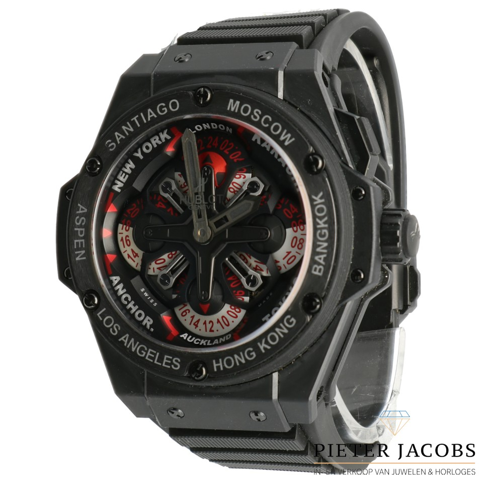 Hublot King Power Unico GMT Keramiek
