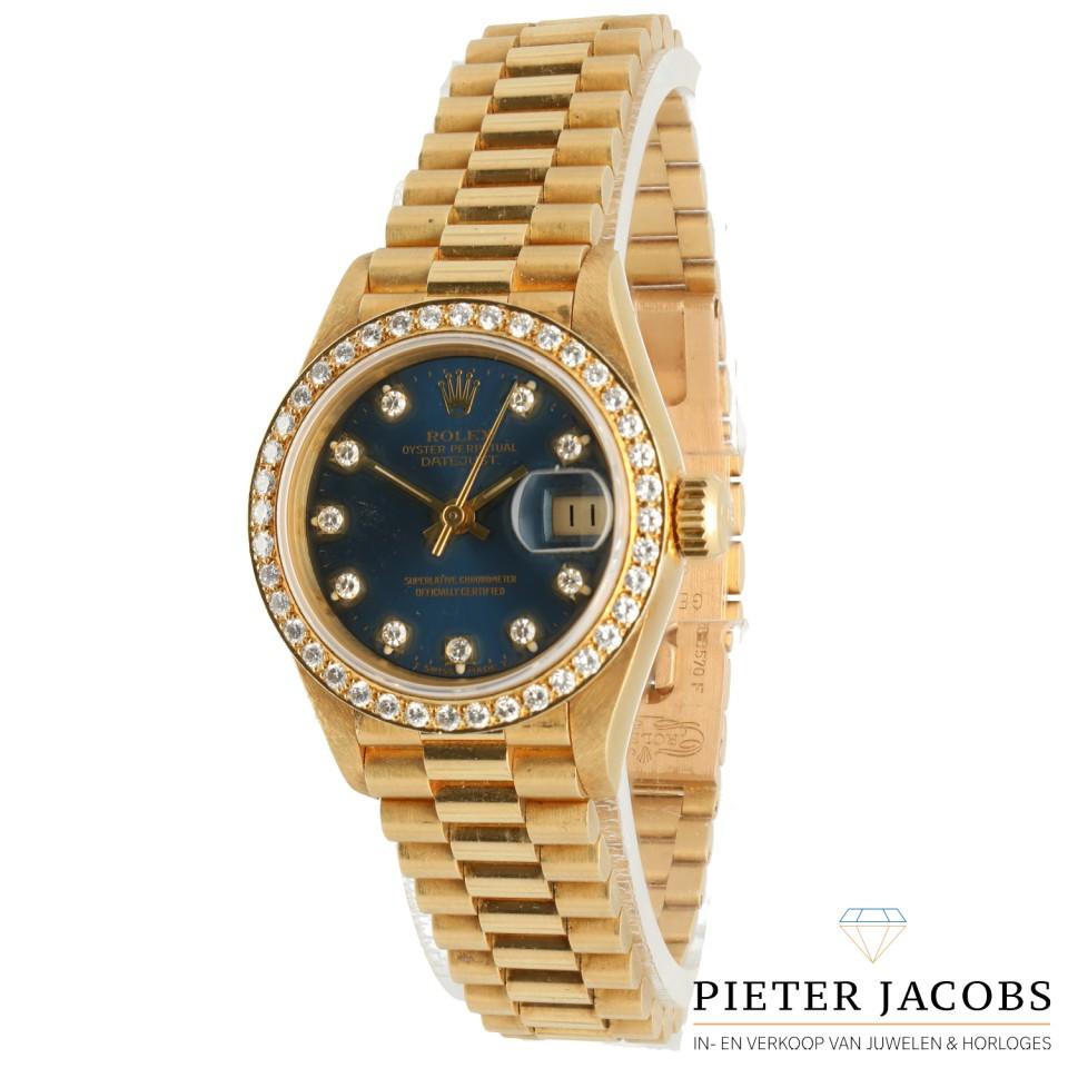 Rolex Datejust Lady 26 18k. goud Ref. 69178