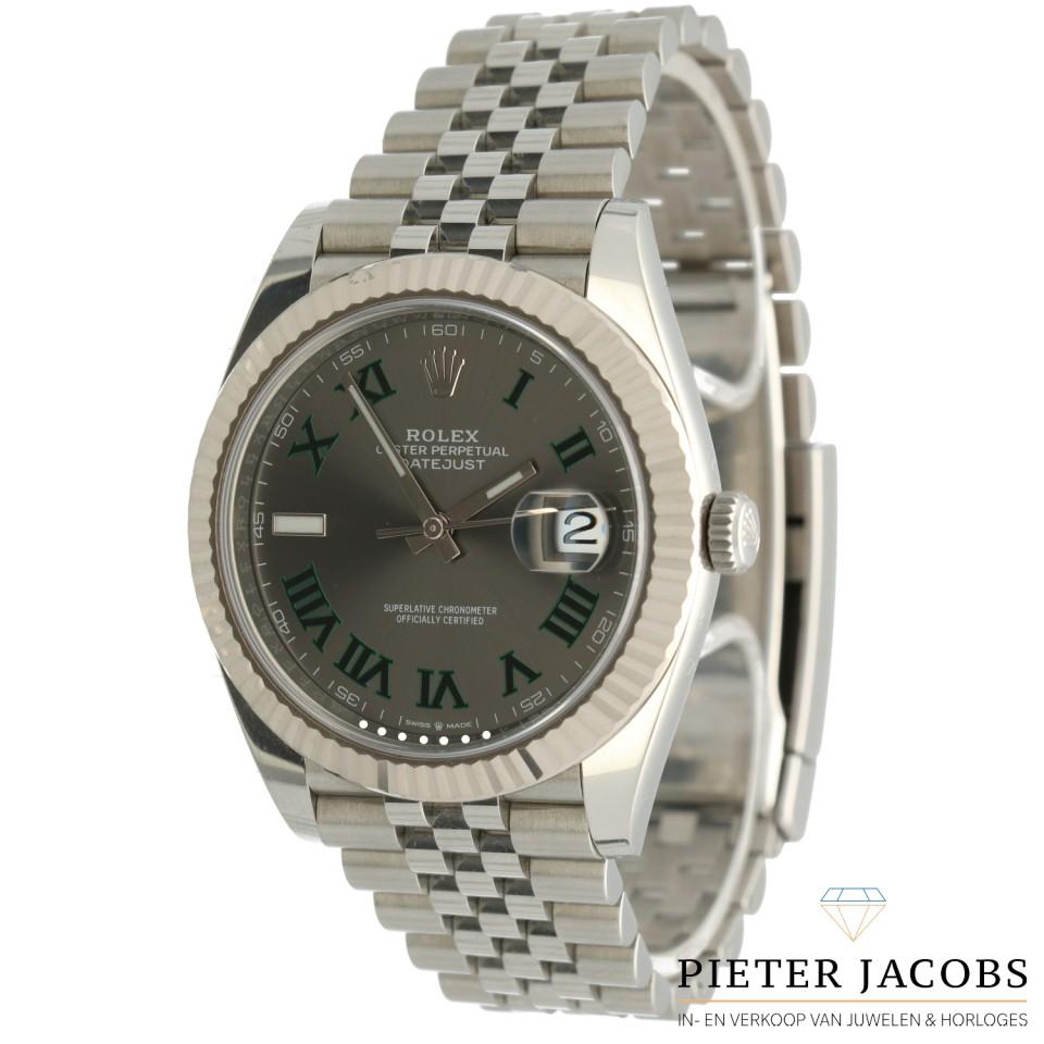 Rolex Datejust 41 Slate Roman Ref.126334
