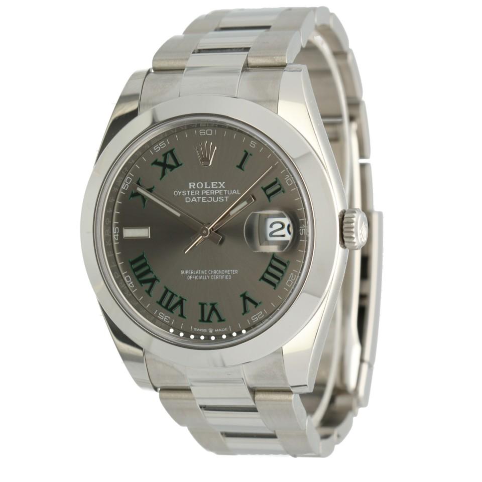 Rolex Datejust 41 Slate Roman Ref.126300