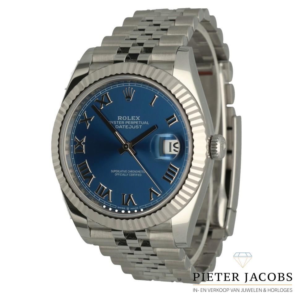 Rolex Datejust 41 Ref.126334 Blue dial