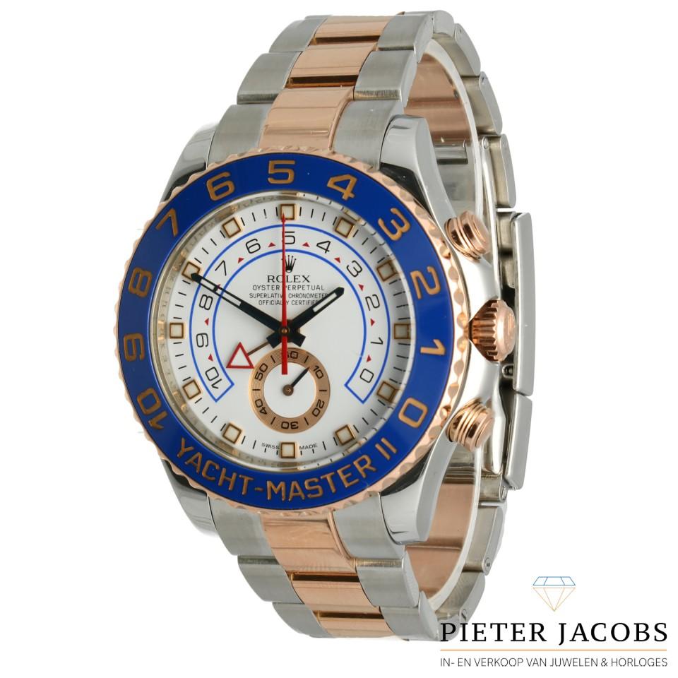 Rolex Yacht-Master II Everose gold/steel Ref. 116681