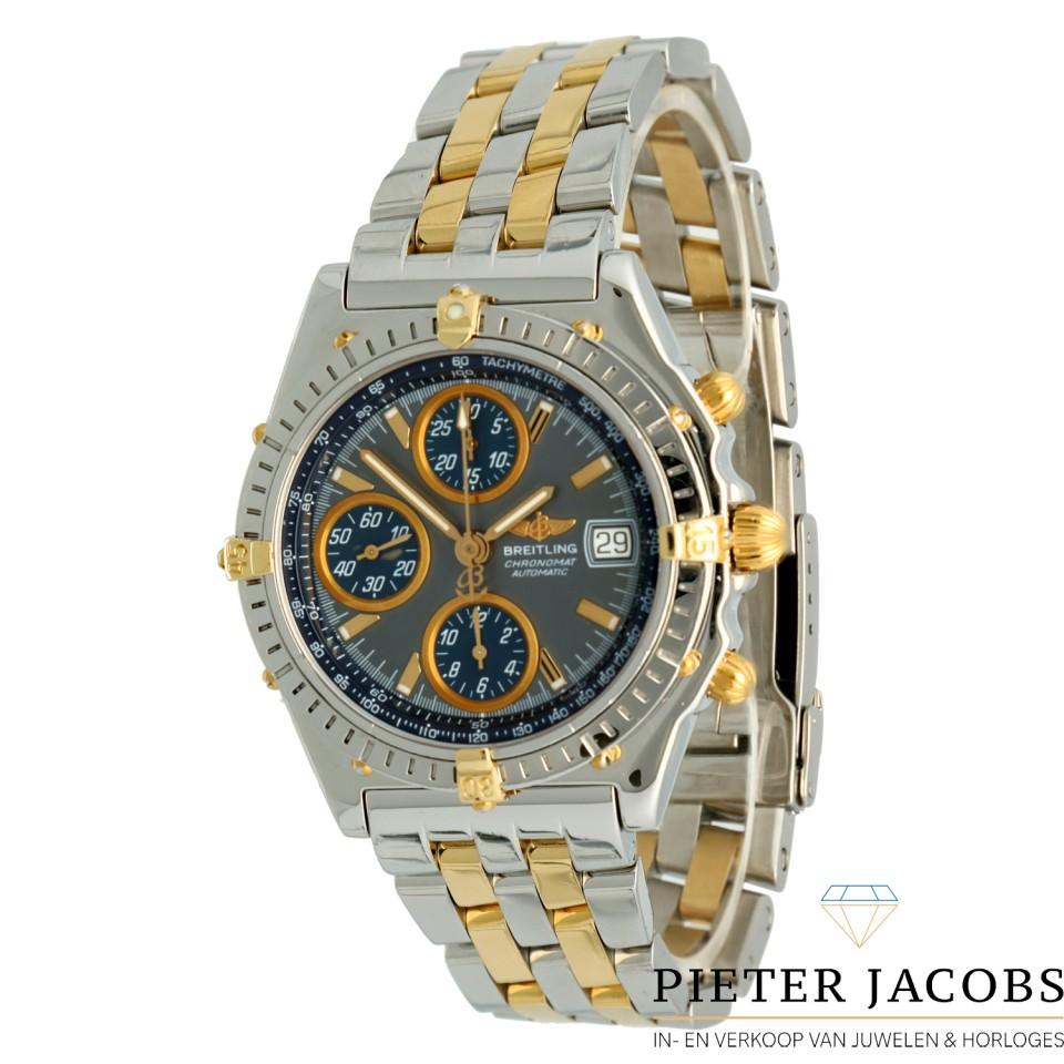 Breitling Chronomat Chronograaf Goud/Staal