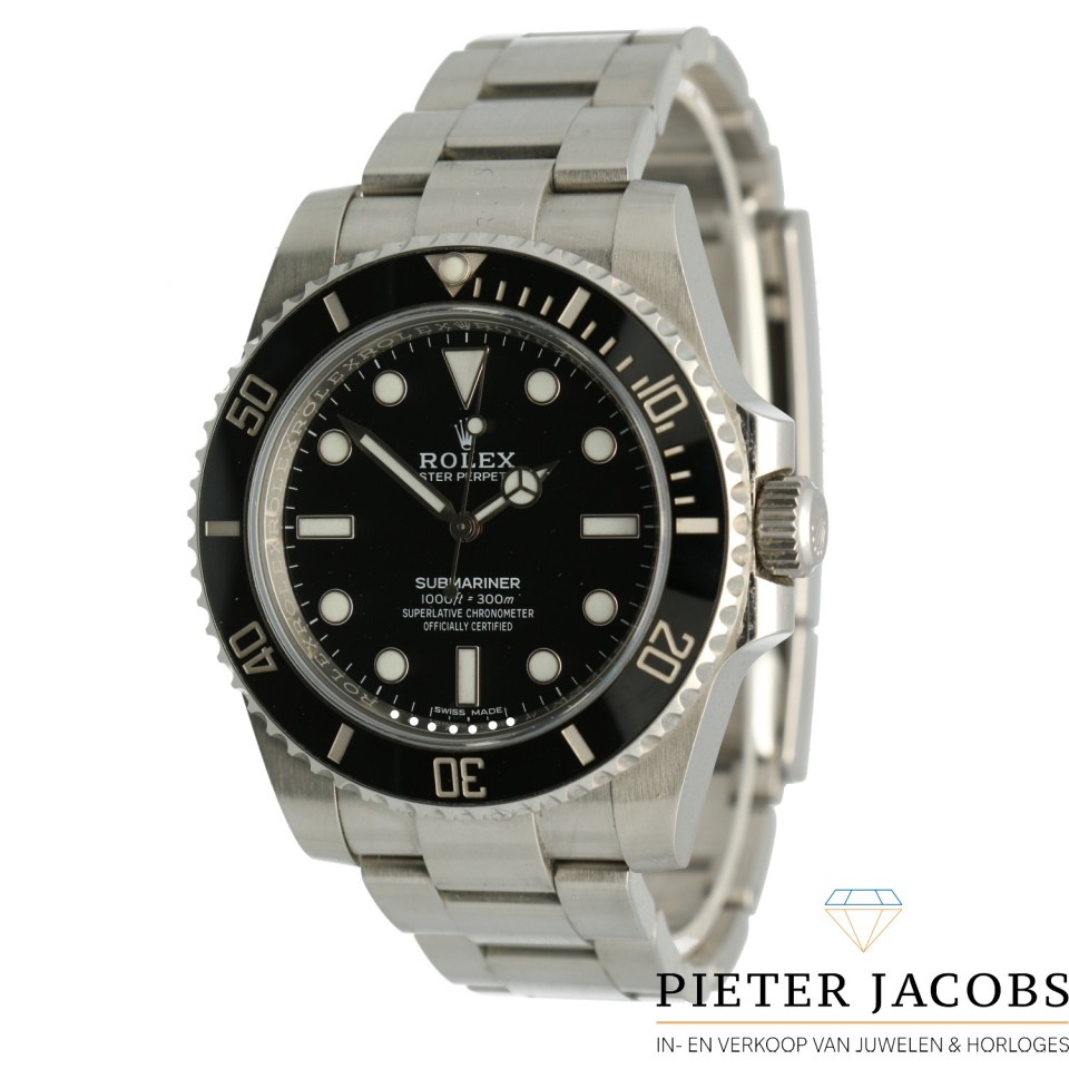 "Rolex Submariner No Date Ref.114060 ""Full Set"""