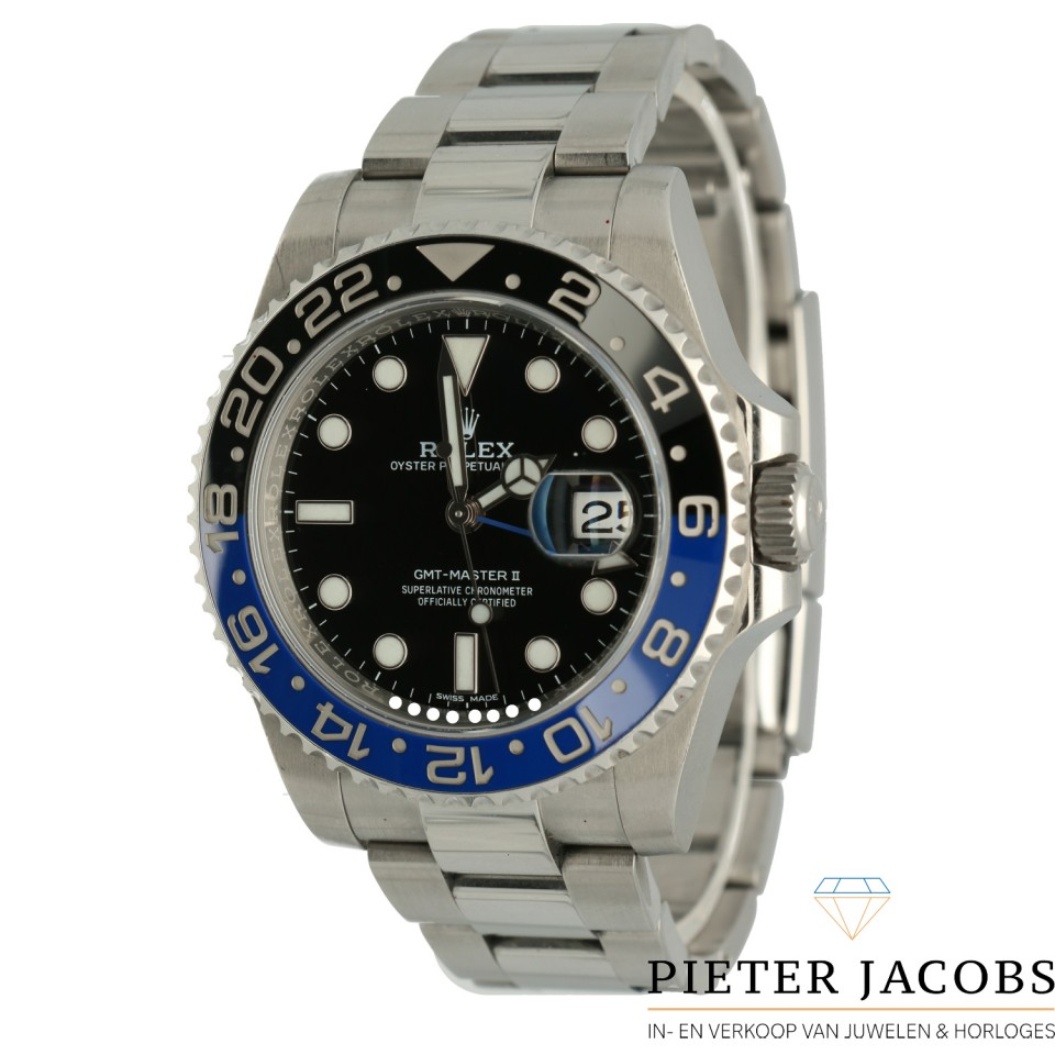 Rolex GMT-Master II Ref.116710BLNR