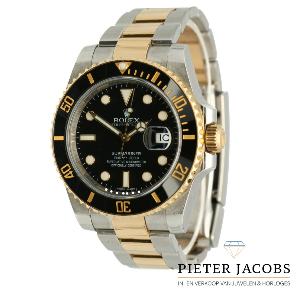 Rolex Submariner Date Goud/Staal Ref.116613LN