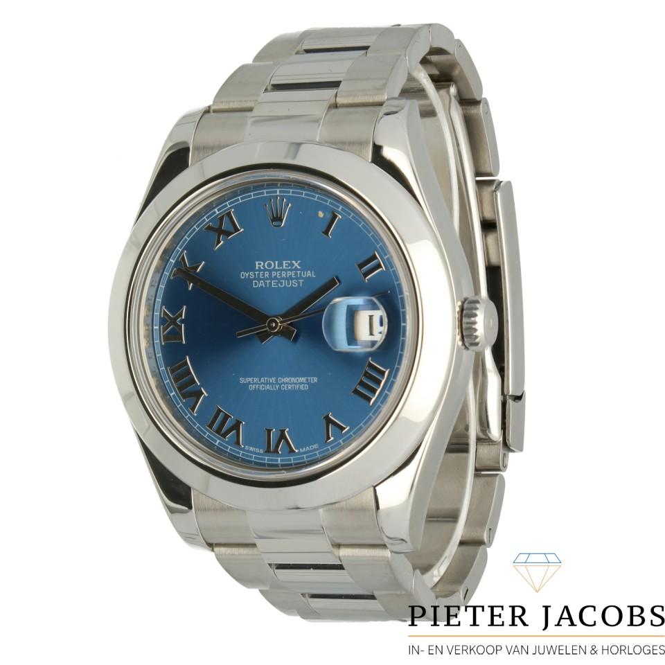 Rolex Datejust II Ref.116300 Blue dial
