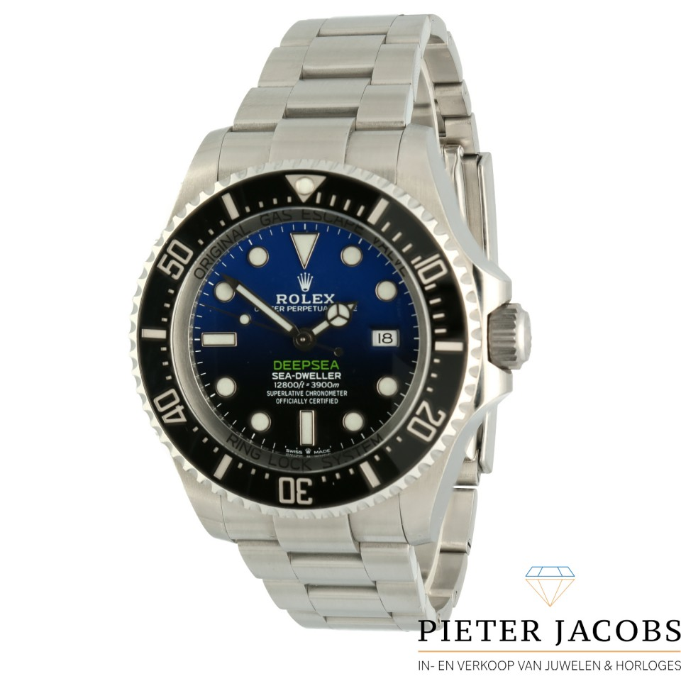Rolex Sea-Dweller Deepsea Blue/James Cameron Ref: 126660