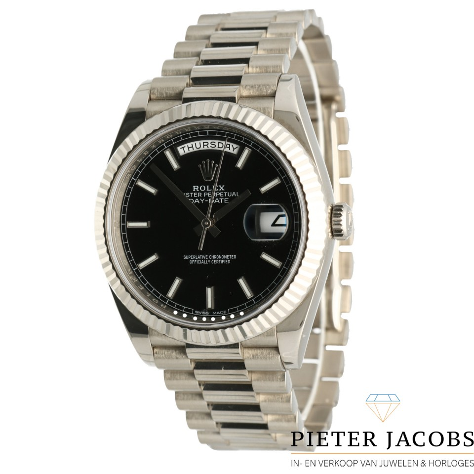 Rolex Day-Date 40 Whitegold Ref. 228239