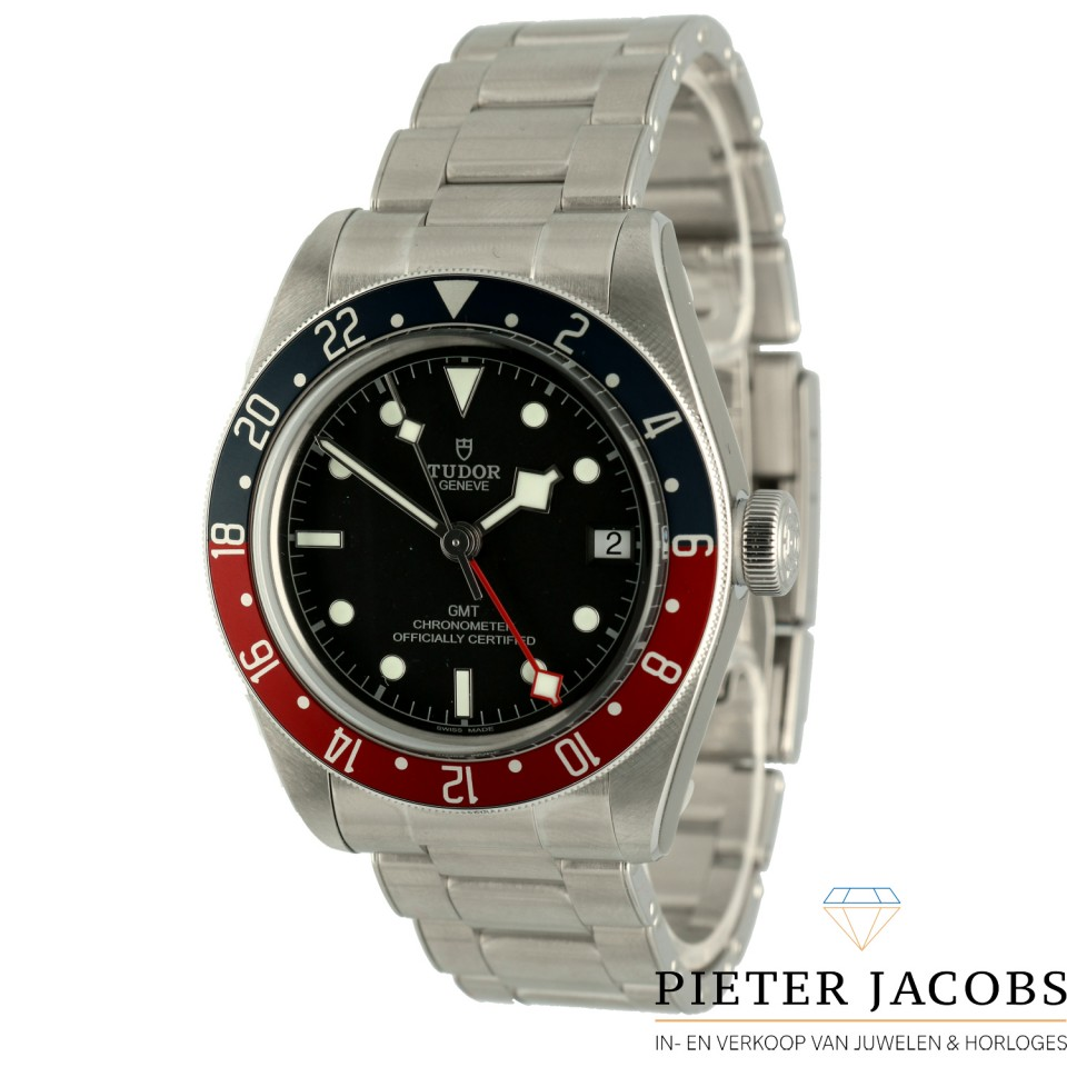 "Tudor Black Bay Gmt ""Pepsi Staal"" 2020"