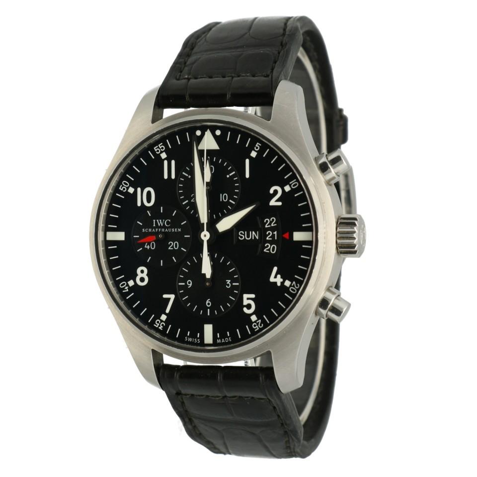 IWC Pilot Fliegeruhr Chronograaf IW377701