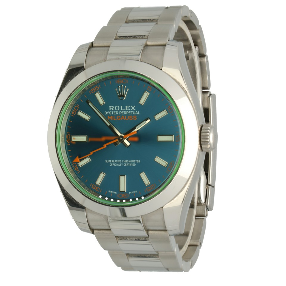Rolex Milgauss Blue Ref.116400GV