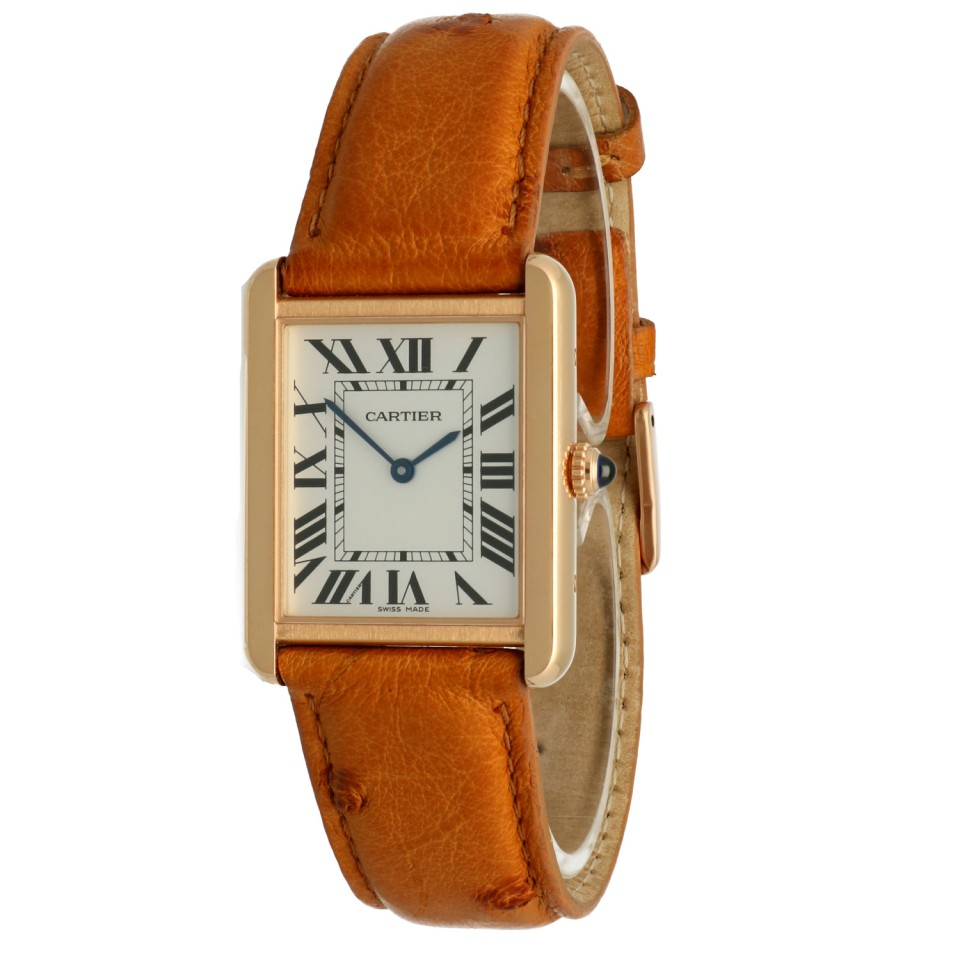 Cartier Tank Solo Goud/Staal '20
