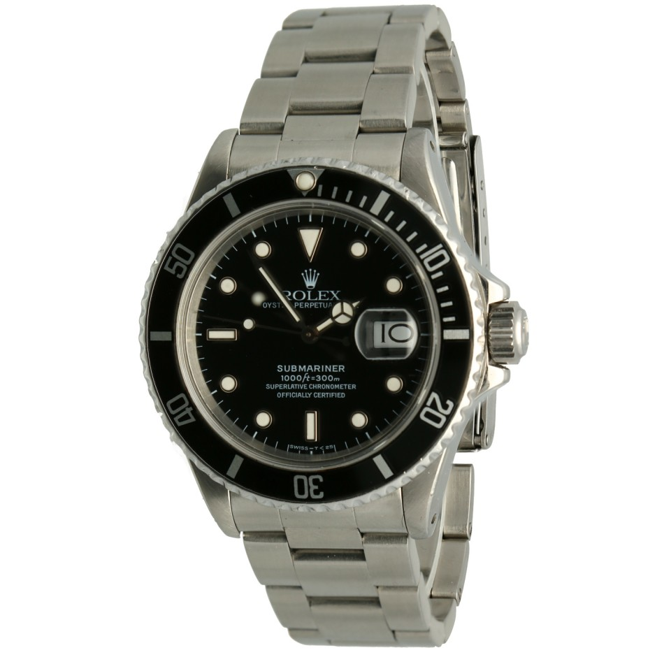 "Rolex Submariner Date Ref.16800 ""Full Set"""