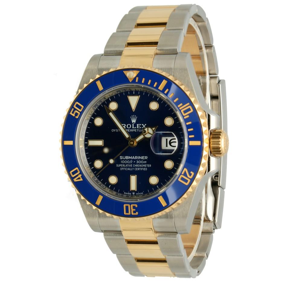 Rolex Submariner Date Goud/Staal Ref.126613LB