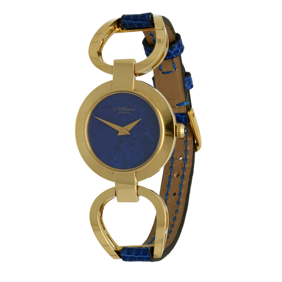 """Chopard LUC 18K.Goud """"Vintage Lapis Lazuli"""""""